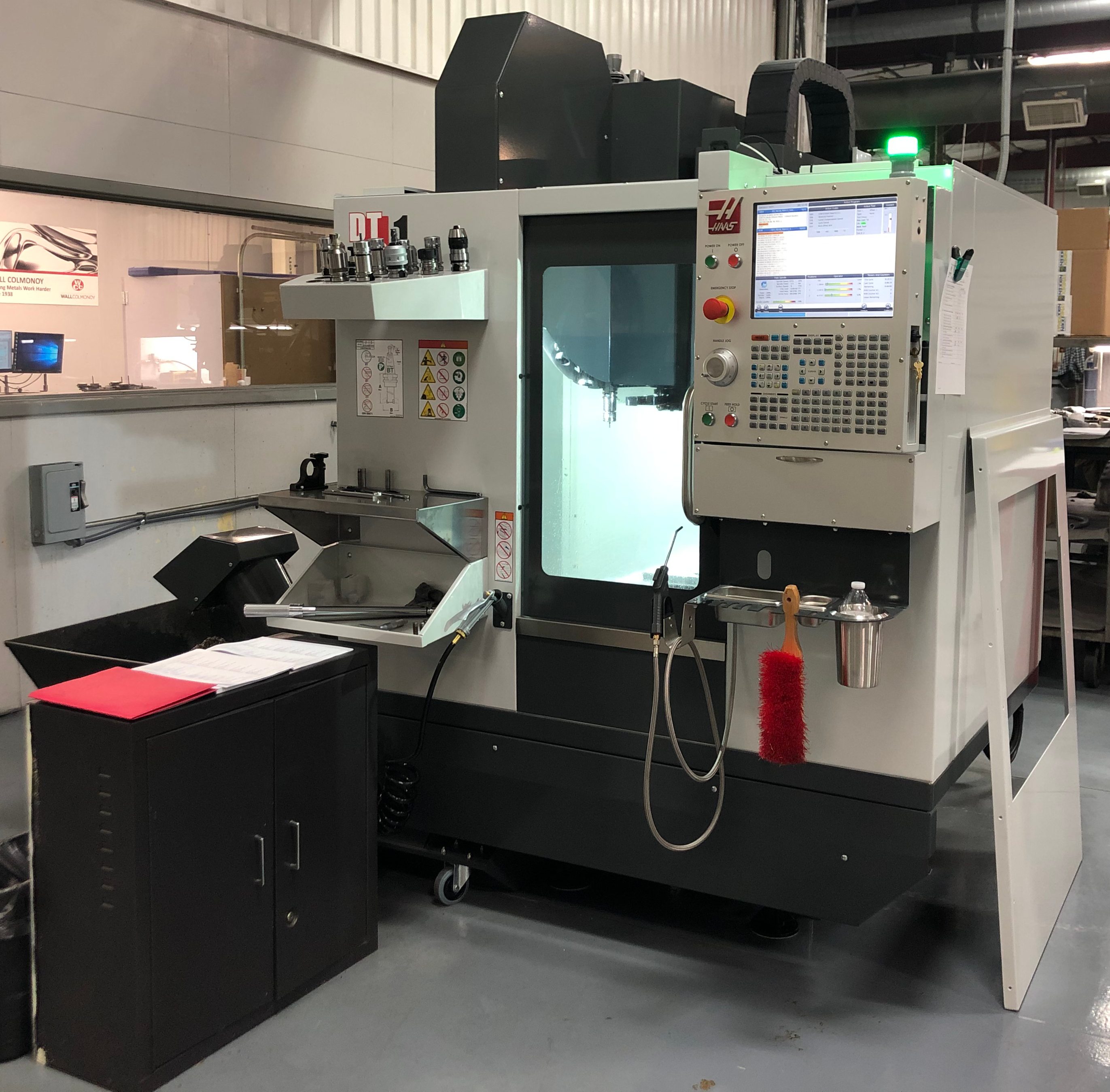Haas DT-1 3 Axis Milling Machine - Web Image
