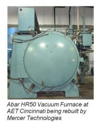 Abar HR50 Vacuum Furnace