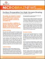 Nicrobraz® News - Surface Preparation for High Vacuum Brazing