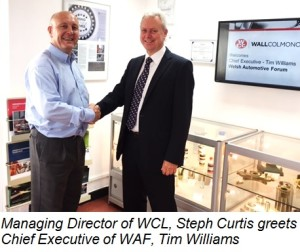 Wall Colmonoy Limited (UK) welcomes the Welsh Automotive Forum (WAF)