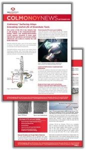 Colmonoy® News - Extending Useful Life of Downhole Tools